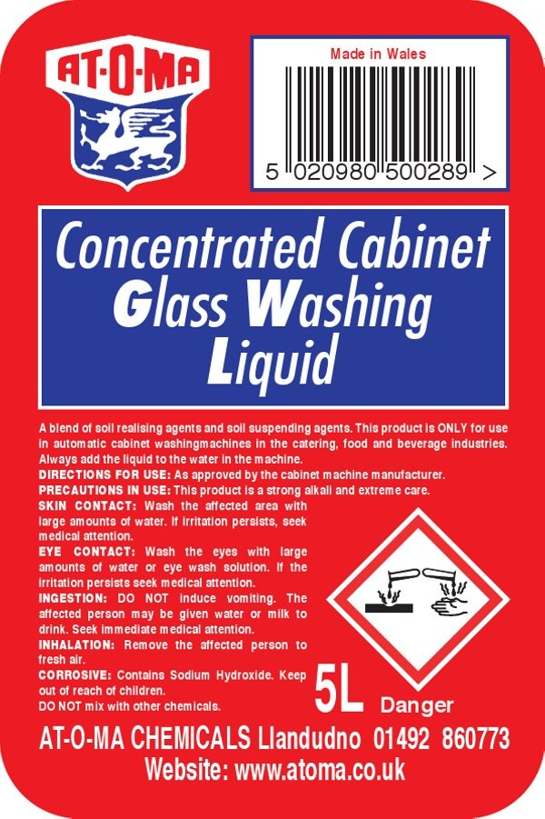 Cabinet Glass Wash