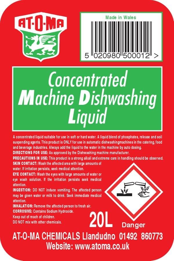 Caterpak Machine Dishwashing Liquid