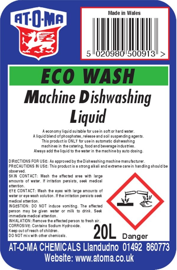 Eco Machine Dishwashing Liqiud