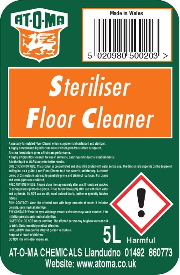 Steriliser Floor Cleaner