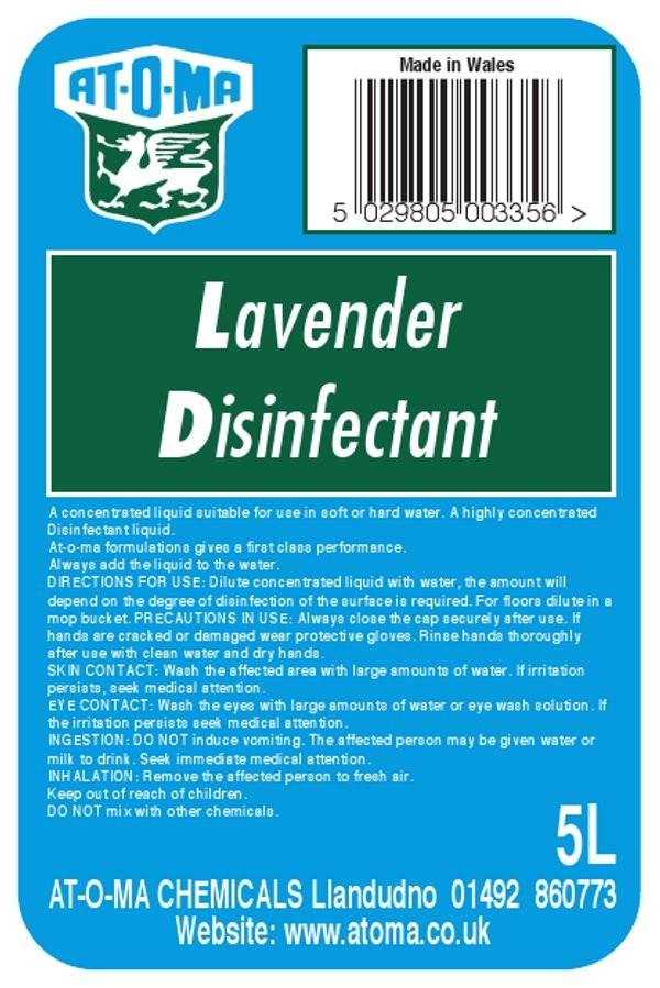 Lavander Disinfectant