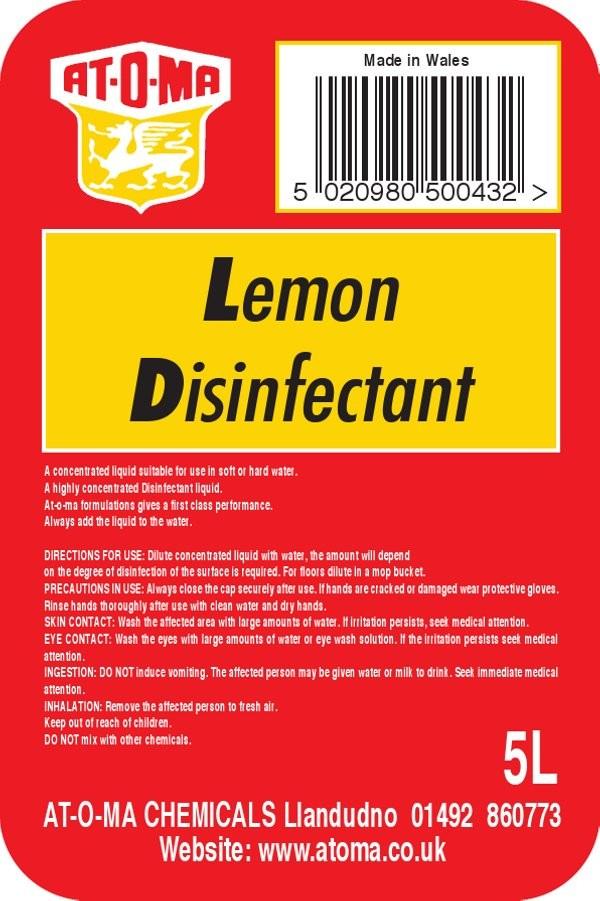 Lemon Disinfectant