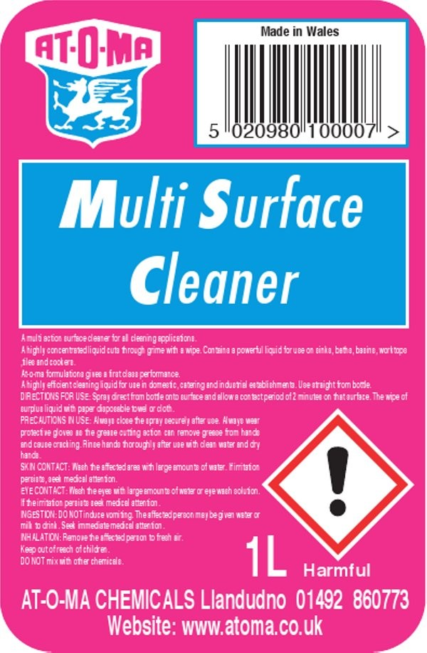 Multi Clean Kitchen and Bathroom Cleaner