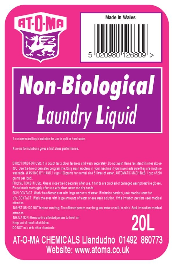Non Biological Laundry Liquid