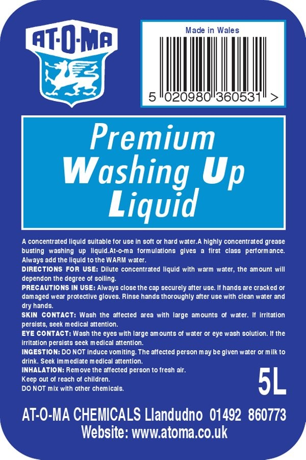 Premium Washing Up Liquid
