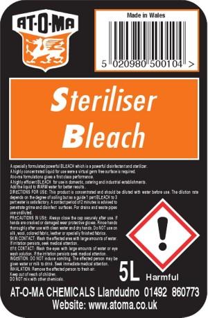 Steriliser Bleach