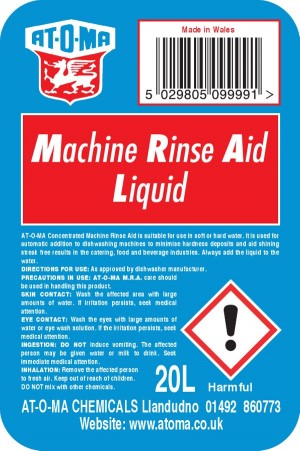 Caterpak Machine Rinse Aid Liquid