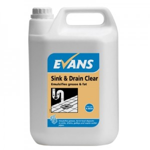 Evans Drain Clear & Sink&Drain Clear